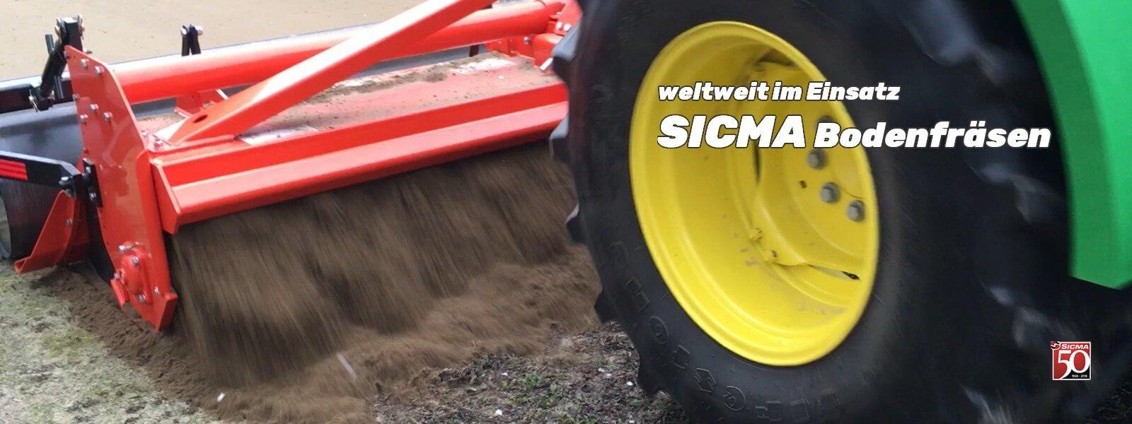 SICMA Bodenfräsen